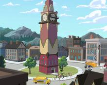 Mayor Luskey Clock Tower (Ceremony day)