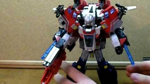 How to combine Classics Jet-fire and Optimus Prime