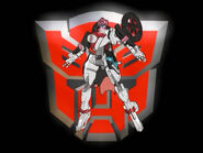 Arcee in Robot Mode (Energon Series)