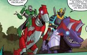 How to Ride a Dinobot Drift and Crosshairs on Slag and Scorn