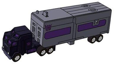 Transformers G1 Motormaster truck