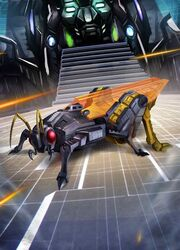 Transformers Legends Ransack Insect Mode