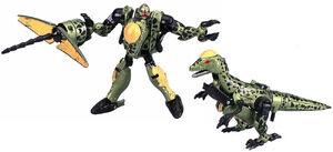 BM Dinotron toy