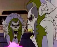 Quintessons gray faces except death