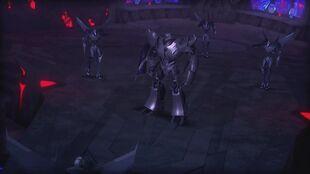 Armada screenshot Megatron vs Starscream clones
