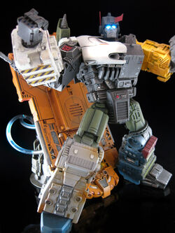 Kidbash Autobot X