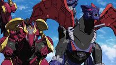 TFGoSamurai3 Budora Bakudora beast modes