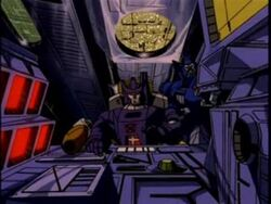 Bridge - Galvatron's Ship
