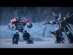 Optimus vs king 2