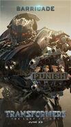 Transformers 5 Barricade Poster