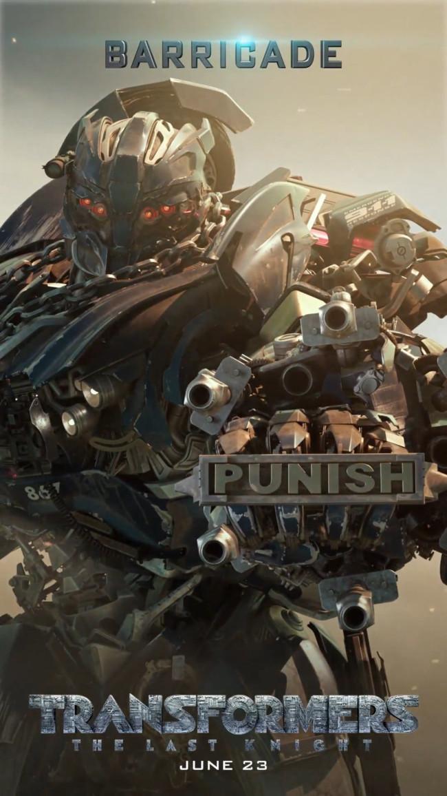 Transformers 5 Barricade