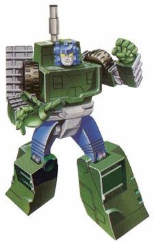 G1Bombshock Autobot cardart