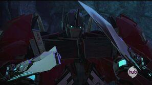 Orion Pax part 3 Optimus swords