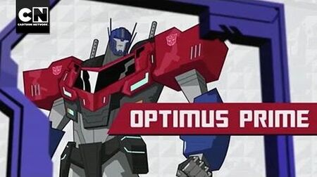 Meet Optimus Prime I Transformers Robots In Disguise I Cartoon Network