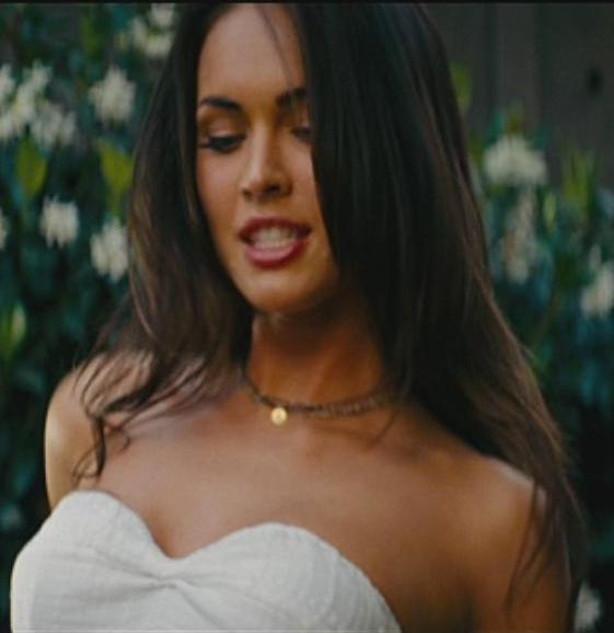 Transformers 3 carly white dress