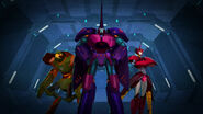 Saberhorn, Glowstrike and Scorponok