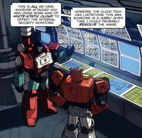 SpotlightBlaster Perceptor whitestatic