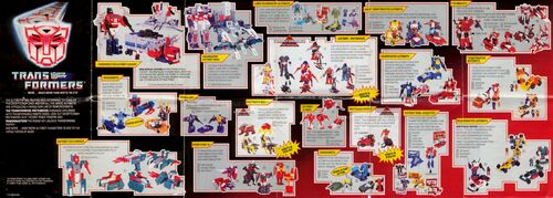 Transformers 1988 USA Catalog Autobots