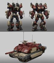 Theo Stylianides Warpath Transformers Universe Concept