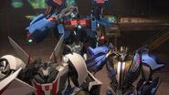 Wheeljack Ultra Magnus Smokescreen