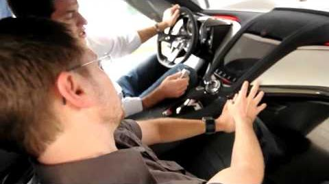 GM Corvette Stingray Concept Interior