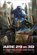 Transformers3-optimus prime-poster