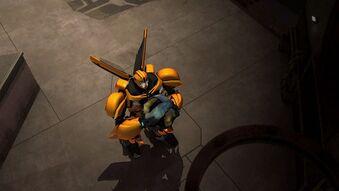 Out his head screenshot Bumblebee