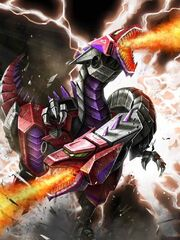 Transformers Prime Hun-Gurr Beast Mode