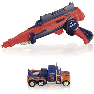 Transformers Nerf Optimus Prime Barricade RV-10 Blaster Gun SDCC ...