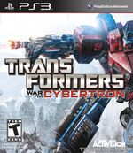 Transformers-War-for-Cybertron PS3 Front