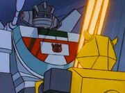 Bumblebee and Wheeljack with Energy Tubes