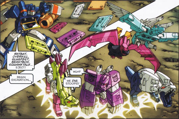 Archivo:Madman comic Soundwave ejects tapes.jpg