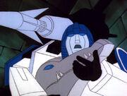Mirage Holds Grimlock G1 Screenshot