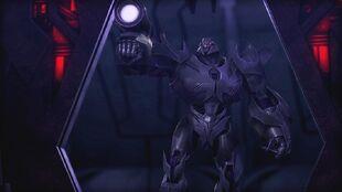 Armada screenshot Megatron blaster