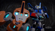 Fixit and Strongarm track Scatterspike