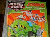 Rescue Bots Jumbo Coloring and Activity Book (Блейдз и Болдер динозавры)
