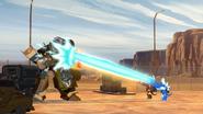 Swelter and Glacius vs. Optimus Prime