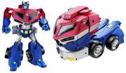 TFAnimated RolloutCommand OptimusPrime toy