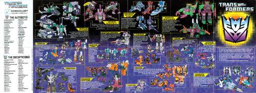 Transformers 1987 USA Catalog Decepticons