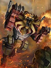 Transformers Prime Razorclaw Beast Mode
