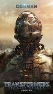 Transformers 5 Cogman Poster