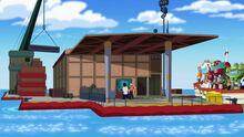 Doc Greene's Floating lab