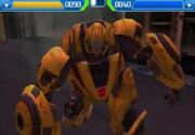 Rise of the Dark Spark 3DS Aligned Bumblebee Fighting