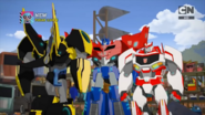 Optimus, Bumblebee, and Ratchet (Enemy of My Enemy)