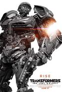 Transformers 5 Poster Hot Rod
