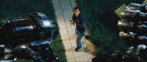Movie Ironhide threatens Mojo