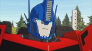 Optimus Prime face RID