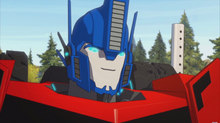 Optimus Prime face RID