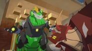 Grimlock Defeated Scowl