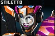 Transformers Universe Stiletto Face
